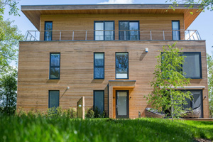 Фасадная доска: традиционная древесина и новые технологии