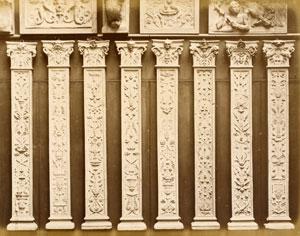 Пилястры как декоративные элементы зданий