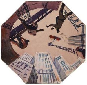 Выставка Александра Дейнеки «Контуры глобальной эпохи» в Музее архитектуры им. А.В. Щусева