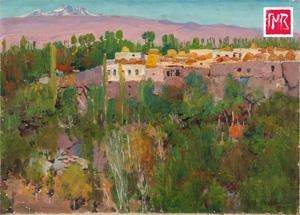 Выставка «Егише Татевосян» в музее Востока