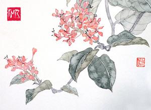 Онлайн мастер-класс «Цветы в традиционном китайском стиле»