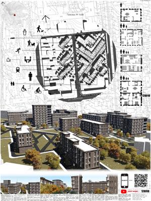 Проект жилого комплекса «Красная площадь» в Ижевске. БПОУ УР «Ижевский монтажный техникум»