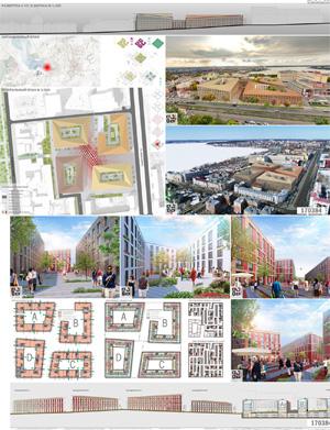 Проект жилого комплекса «Красная площадь» в Ижевске. Ш-Проект
