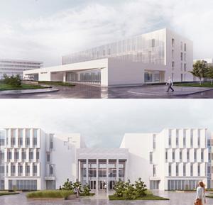 Проект центральной районной больницы на 240 коек. Архитектурное бюро «Студия 44»