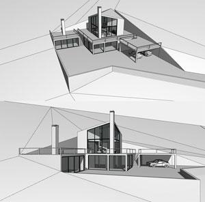Концепция жилого дома в Горном Алтае. Архитектор: Сергей Косинов