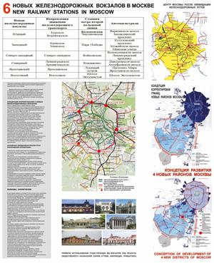 Концепция коренной реконструкции железнодорожной сети в Москве