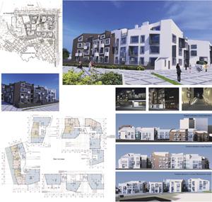 Многоквартирный жилой комплекс с нежилыми помещениями и подземными автостоянками по ул. Коммунаров в Иркутске