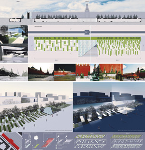 REDSQUARE. Проект реконструкции Красной площади с переносом Мавзолея