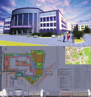 Проект средней общеобразовательной школы на 825 мест в 31 микрорайоне г. Сургута