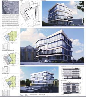 Проект административного здания по ул. Седова. Иркутск