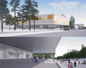 Проект реконструкции ДК «Академия» в новосибирском Академгородке. A.B.C.D group. Архитекторы: Андрей Буслаев, Николай Вяткин