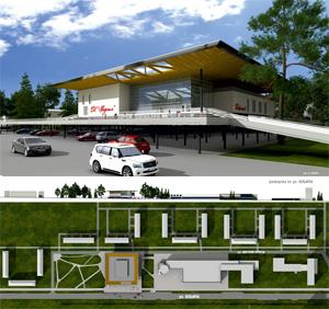 Проект реконструкции ДК «Академия» в новосибирском Академгородке. Архитектор Юрий Чаплыгин