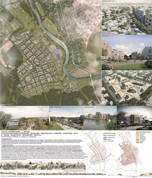 Архитектурно-градостроительная концепция комплексного развития территории 227га в Звенигороде