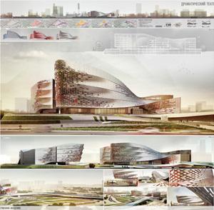 Драматический театр современного искусства на 1600 мест