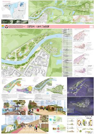 Концепция туристского кластера в городе Глазове. ООО «ПроектГрад»