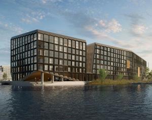 Многофункциональное здание Jonas в Амстердаме