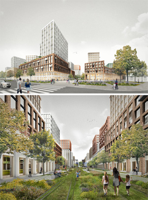 Ligovsky City. Проект трансформации территории бывшей товарной станции на Лиговском проспекте в Санкт-Петербурге
