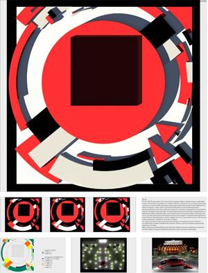 Миры Эль Лисицкого / Worlds of El Lissitzky: Алена Симонова. Кинематический объект 2D-4D / Kinematic Object 2D-4D