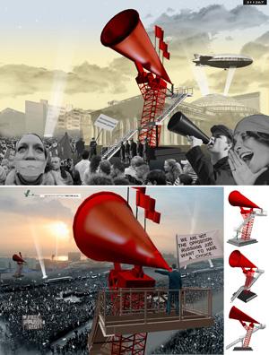 Миры Эль Лисицкого / Worlds of El Lissitzky: Jason le Mare. Трибуна Лисицкого / Lissitzky's Tribune
