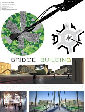 Миры Эль Лисицкого / Worlds of El Lissitzky: DSDN-PRJKT / Ryan Keerns, Kristen Smith. Здание-мост / Bridge-Building
