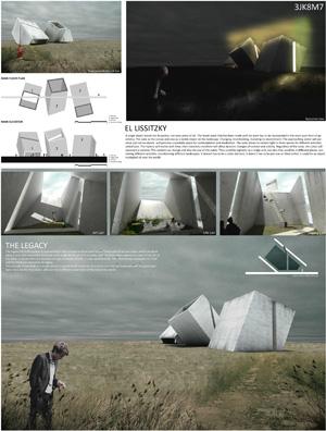 Миры Эль Лисицкого / Worlds of El Lissitzky: Juan José Ochoa Paniagua. Берлога для медитации / Lair for meditation