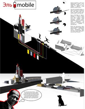 Миры Эль Лисицкого / Worlds of El Lissitzky: Ирина Сморгович, Дарья Кисельникова, Александр Кладов. Эль-мобиль / El-mobile