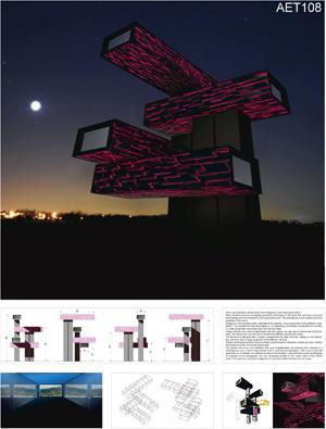 Миры Эль Лисицкого / Worlds of El Lissitzky: Alessio Patalocco. Горизонтальный небоскрёб в розовом / Horizontal skyscraper in magenta