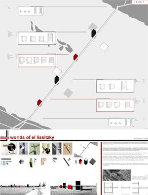 Миры Эль Лисицкого / Worlds of El Lissitzky: Esther Pereira Garcia. Мост на кубах / Bridge on cubes