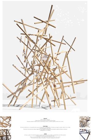 Миры Эль Лисицкого / Worlds of El Lissitzky: Mario Lamber. Гнездо / Nest