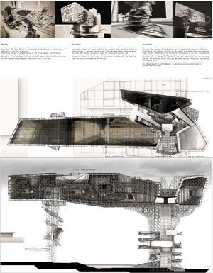 Миры Эль Лисицкого / Worlds of El Lissitzky: Andreas Trentinaglia. Новый горизонтальный небоскрёб / New horizontal skyscraper