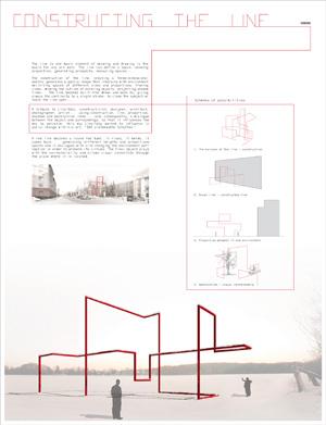 Миры Эль Лисицкого / Worlds of El Lissitzky: Comas Pont Arquitectes. Построение линии / Constructing the line