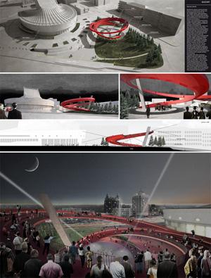 Миры Эль Лисицкого: MDU Architetti: Бесконечный театр / Endless theatre