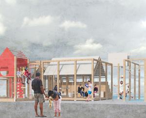 Концепция общественного пространства для малых поселений городского типа. Варвара Ягнышева, Аманда Сизых