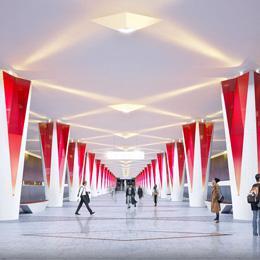 Станция Московского метрополитена «Проспект Маршала Жукова»
