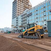 Строительство Golden City, квартал 6. Васильевский остров, Санкт-Петербург. 2019 г.