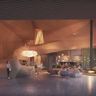 Многофункциональное здание Jonas в Амстердаме. Orange Architects