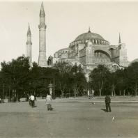 Н.И. Брунов. Церковь Св. Софии Константинопольской. Турция, Стамбул. 1924