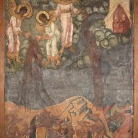 Гибель Вавилона. Фресковая живопись Троице-Макарьева монастыря
