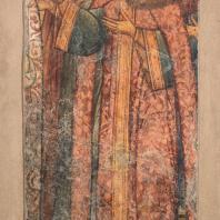 Царица Мария Ильинична. Фресковая живопись Троице-Макарьева монастыря
