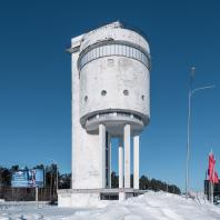 Белая башня. Екатеринбург. Вид зимой с юга. 2017. Фото: Константин Антипин