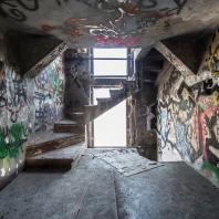 Белая башня. Екатеринбург. Вид лестницы. 2016. Фото: Roberto Conte